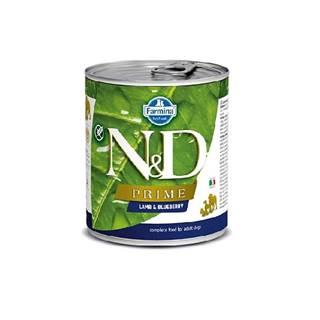N&D dog PRIME konz. ADULT lamb/blueberry - 285g