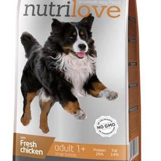 NUTRILOVE pes ADULT large - 3kg