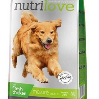 NUTRILOVE pes SENIOR - 3kg