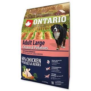 ONTARIO dog ADULT LARGE chicken - 2.25kg