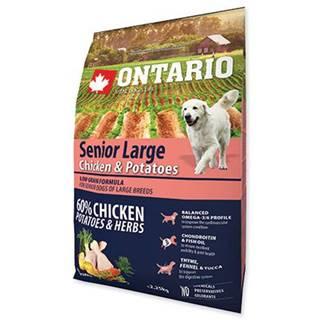 ONTARIO dog SENIOR LARGE chicken - 2.25kg