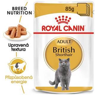 Royal Canin British Shorthair Gravy - kapsička pre britské krátkosrsté mačky v šťave - 85g