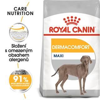 Royal Canin Maxi Dermacomfort - granule pre veľké psy s problémami s kožou - 10kg