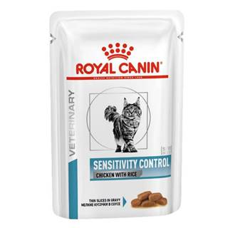 Royal Canin Veterinary Health Nutrition Cat SENSITIVITY CONTROL chicken with rice vrecko - 85g