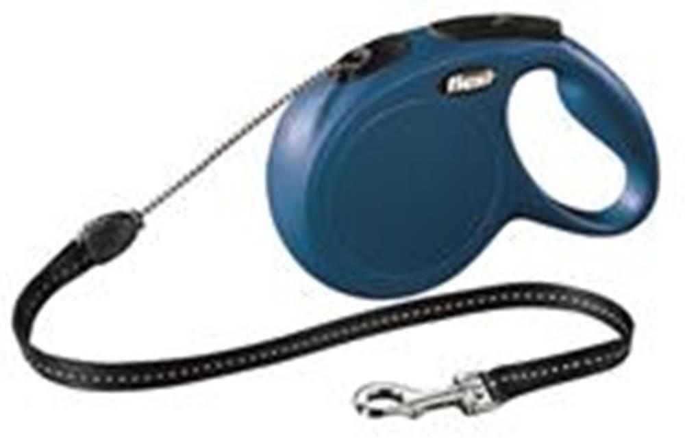 Flexi Flexi CLASSIC lanko  8m/20kg - Modré