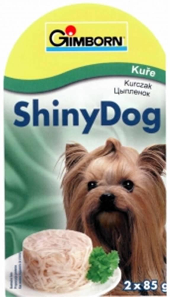 (bez zařazení) GIMBORN SHINY dog konz. KURČA - 2x85g