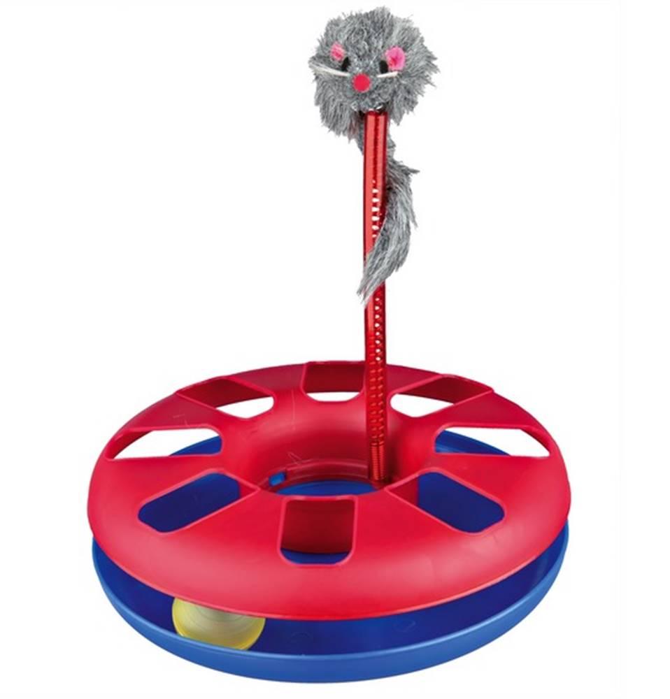 (bez zařazení) HRAČKA bláznivý KRUH s myšou - 24x29cm