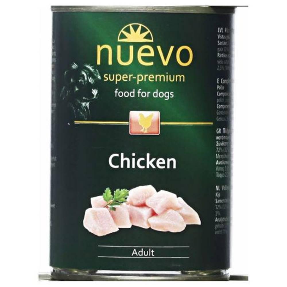 (bez zařazení) NUEVO dog konz. ADULT kuracie - 400g