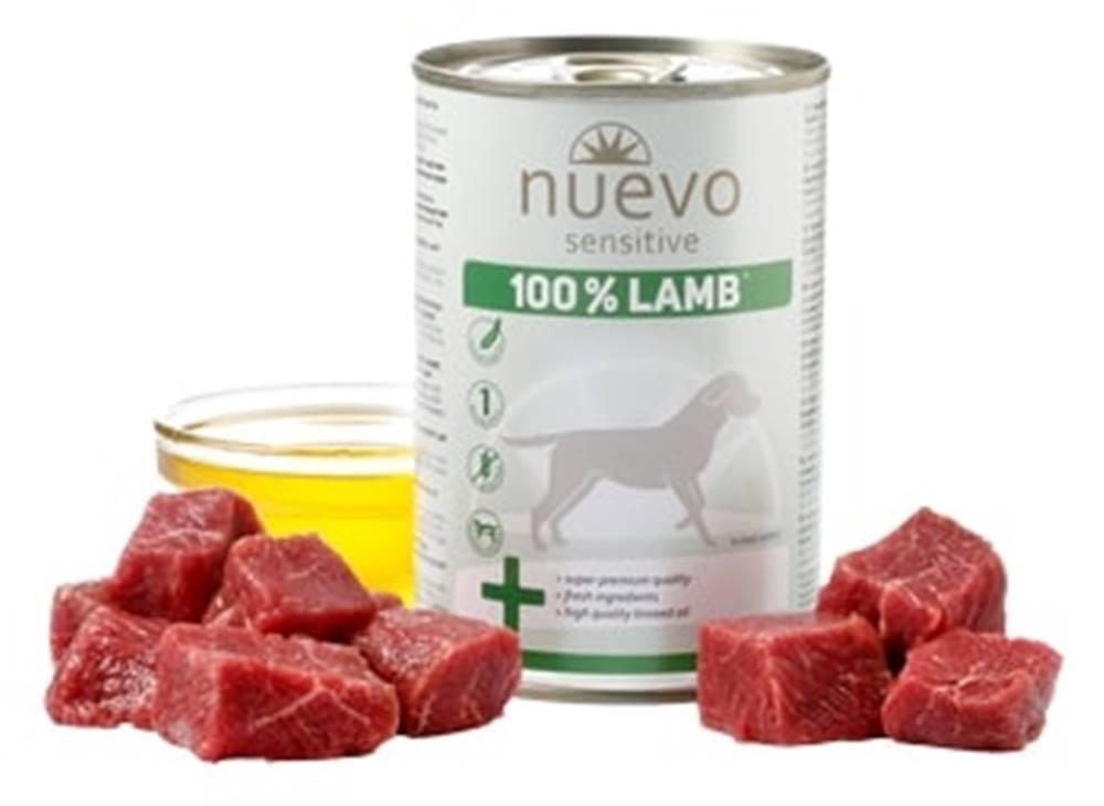 (bez zařazení) NUEVO dog konz. SENSITIVE jahňacie - 400g