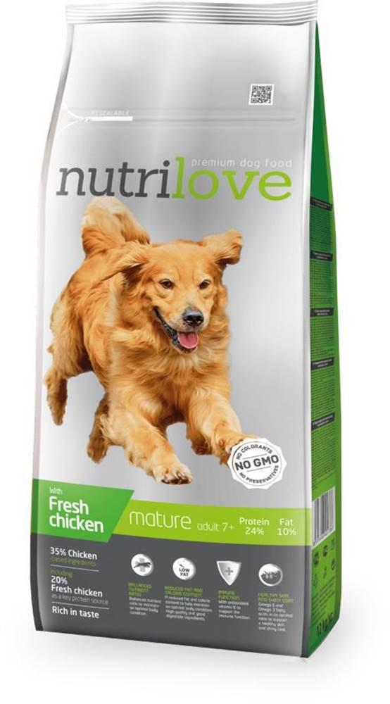 Nutrilove NUTRILOVE pes SENIOR - 3kg