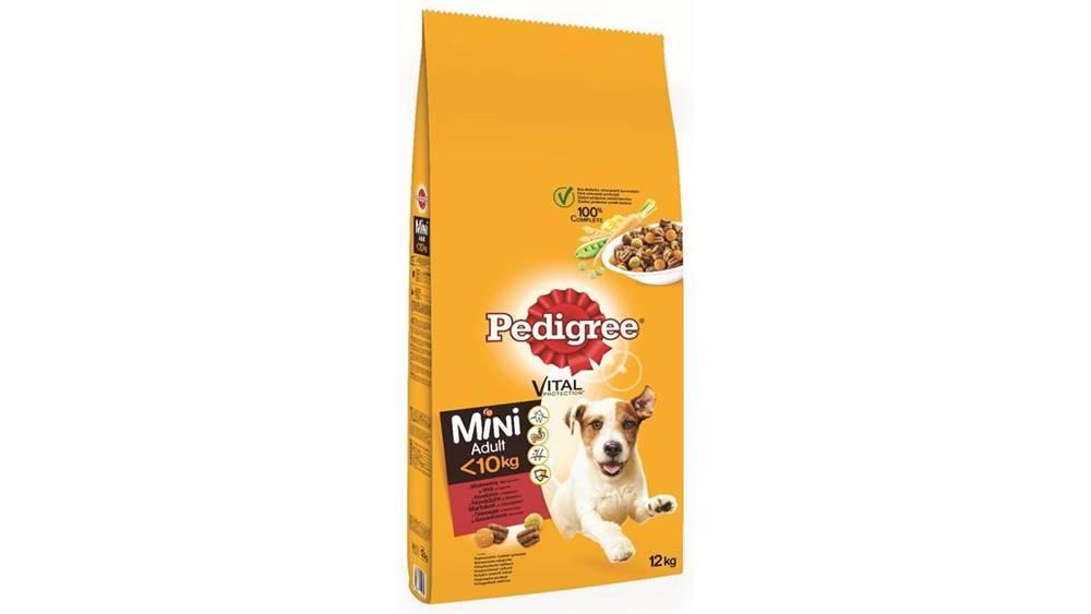 Pedigree PEDIGREE ADULT MINI hovädzie - 12kg