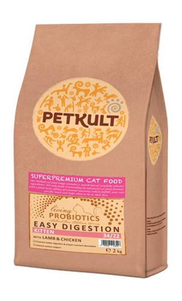Petkult PETKULT  cat  PROBIOTICS   KITTEN - 2kg