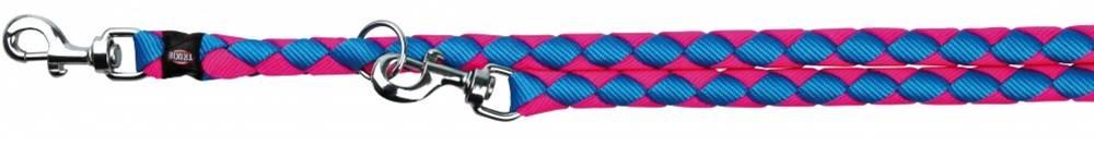 Trixie Vodítko  CAVO predlžovací 1,2cm/2m - 1,2cm/2m ČERNO/stříbrné
