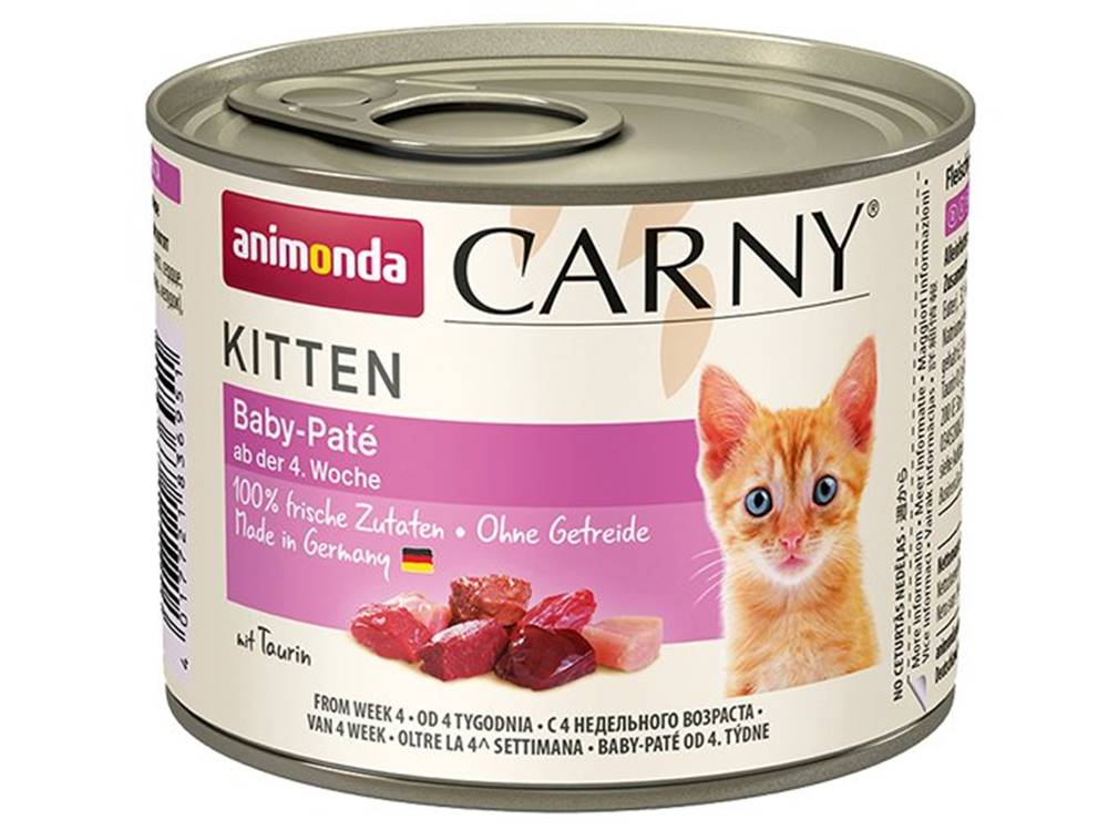 Animonda Animonda cat konzerva Carny BABY paté - 200g