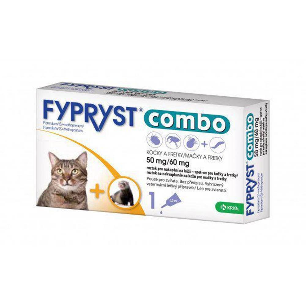 (bez zařazení) Antiparazitný spot-on  FYPRYST  COMBO  pre mačky a fretky - mačka