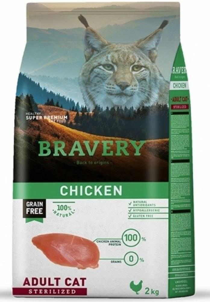 Bravery BRAVERY cat STERILIZED chicken - 400g