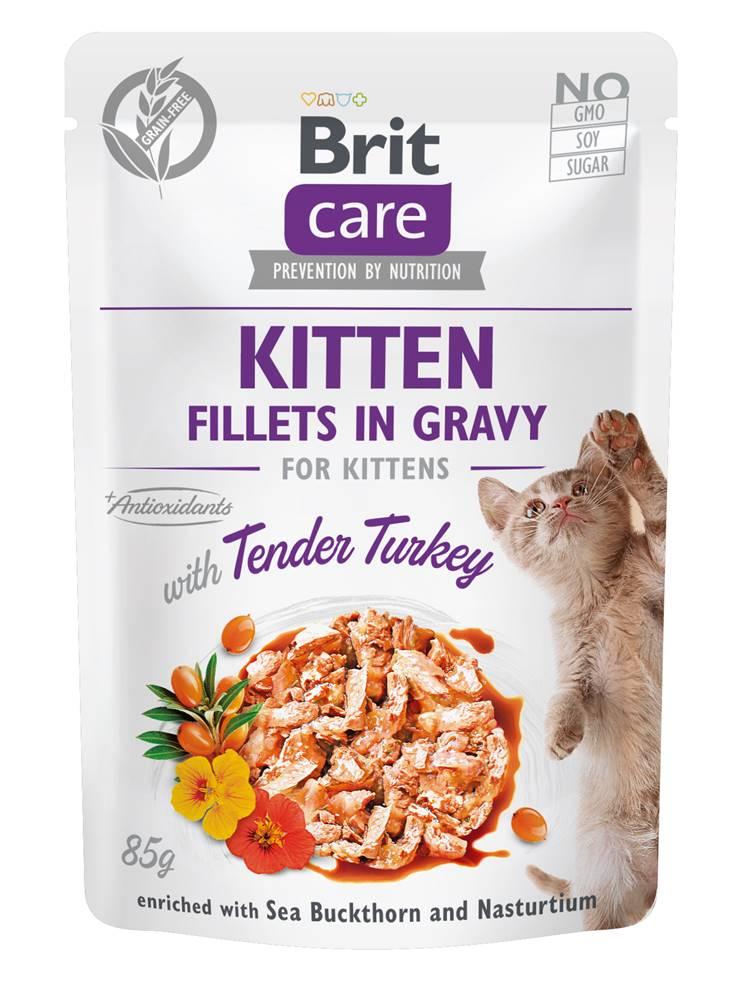 Brit Care BRIT CARE cat kapsa  KITTEN TENDER/turkey - 85g