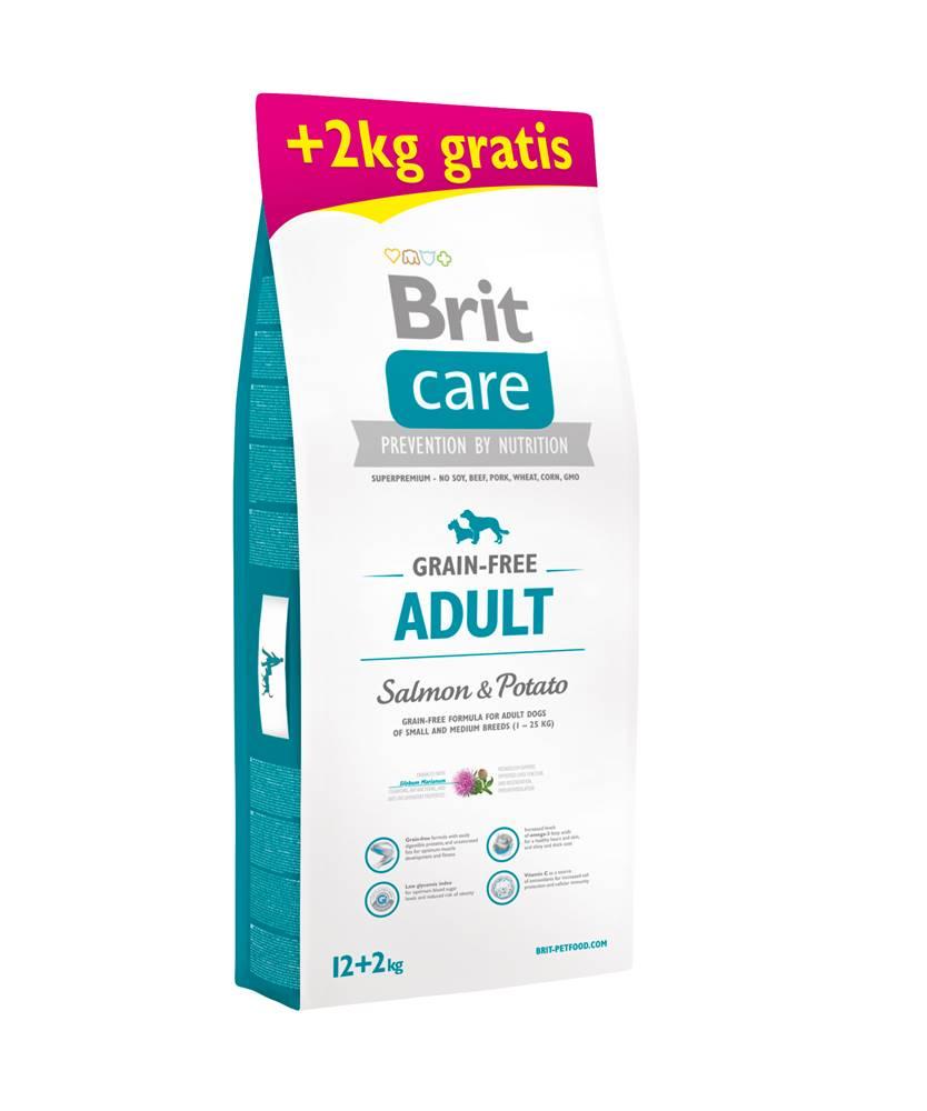 Brit Care Brit Care dog Grain Free Adult Salmon & Potato - 1kg