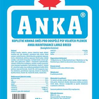 ANKA Maintenance Large Breed - 10kg