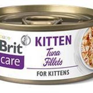 BRIT CARE cat konz. KITTEN  TUNA - 70g