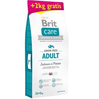 Brit Care dog Grain Free Adult Salmon & Potato - 1kg