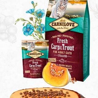 CARNILOVE cat   FRESH STERILISED CARP/trout - 400g