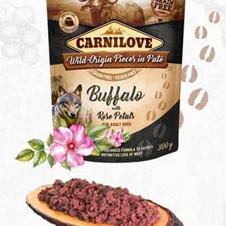 CARNILOVE dog kapsa PATÉ BUFFALO/rose petals - 300g