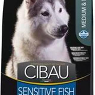CIBAU SENSITIVE FISH/rice MEDIUM/MAXI - 2,5kg