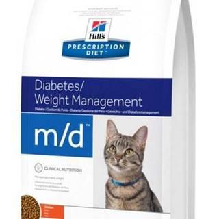 Hills cat  m/d  weight loss - 1,5kg