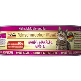 MACs  cat  konz. feinschmecker HUHN/MAKRELE - 100g