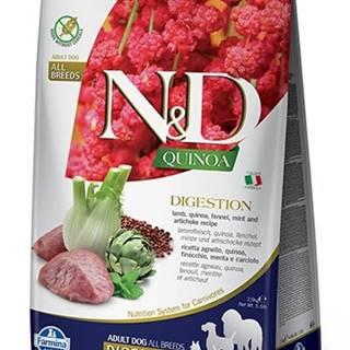 N&D dog GF QUINOA digestion LAMB/fennel - 800g