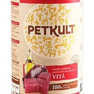 PETKULT dog konz. ADULT 800g - Hovädzie