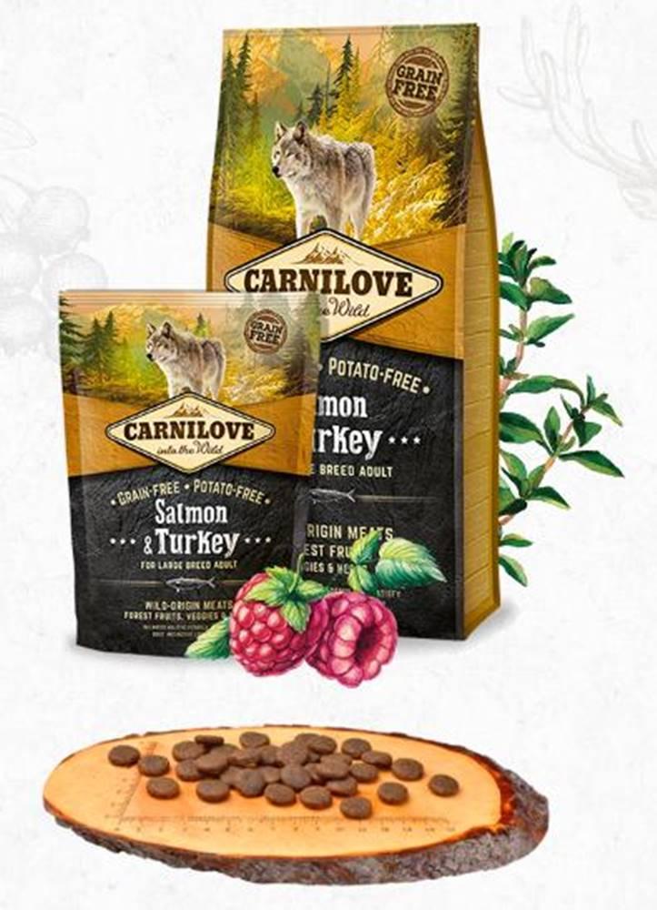 Carnilove CARNILOVE ADULT large SALMON/turkey - 1,5kg
