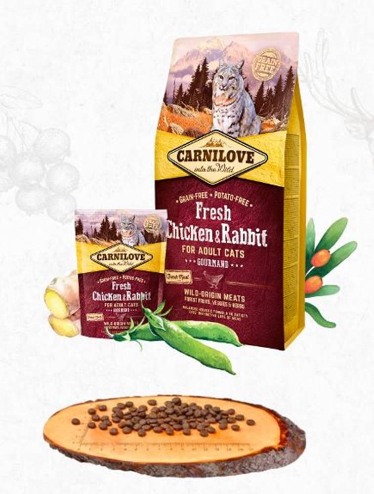 Carnilove CARNILOVE cat   FRESH ADULT CHICKEN/rabbit - 400g