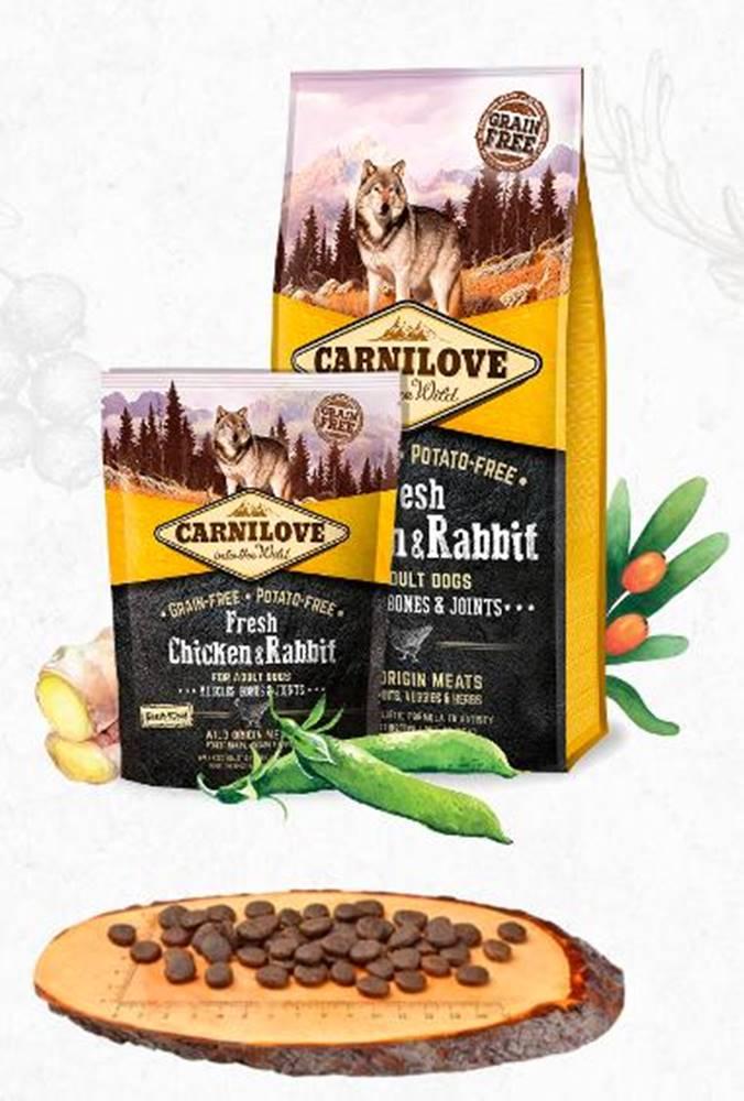 Carnilove CARNILOVE dog FRESH ADULT CHICKEN/rabbit - 1,5kg