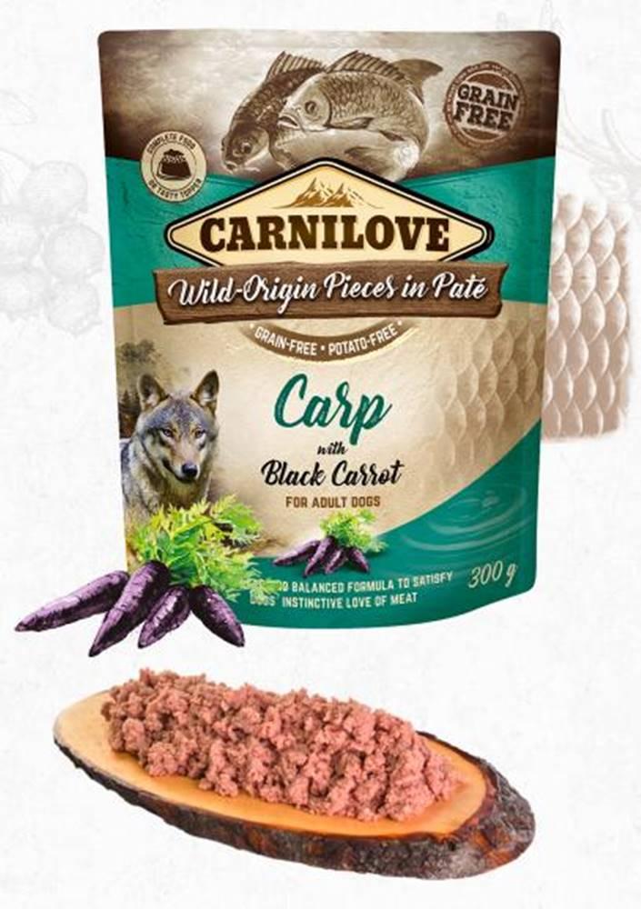Carnilove CARNILOVE dog  kapsa  PATÉ CARP/black carrot - 300g