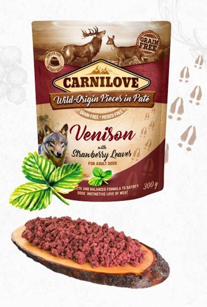 Carnilove CARNILOVE dog vrecko piatej Venison / jahoda leaves - 300g