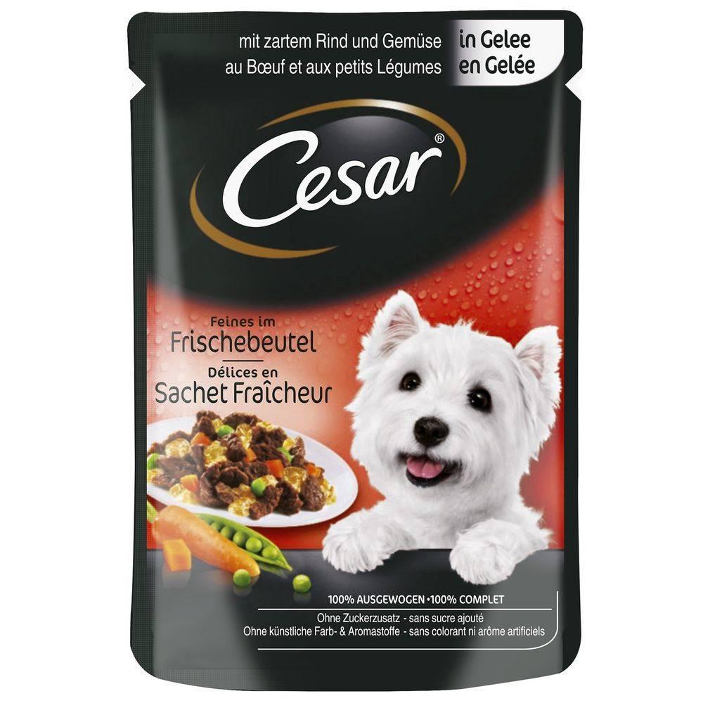 Cesar CESAR kapsa   100g - S hovädzím a zeleninou/želé