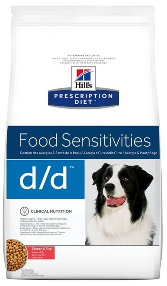 Hills Hills Canine  d/d salmon/rice (dieta) - 2kg