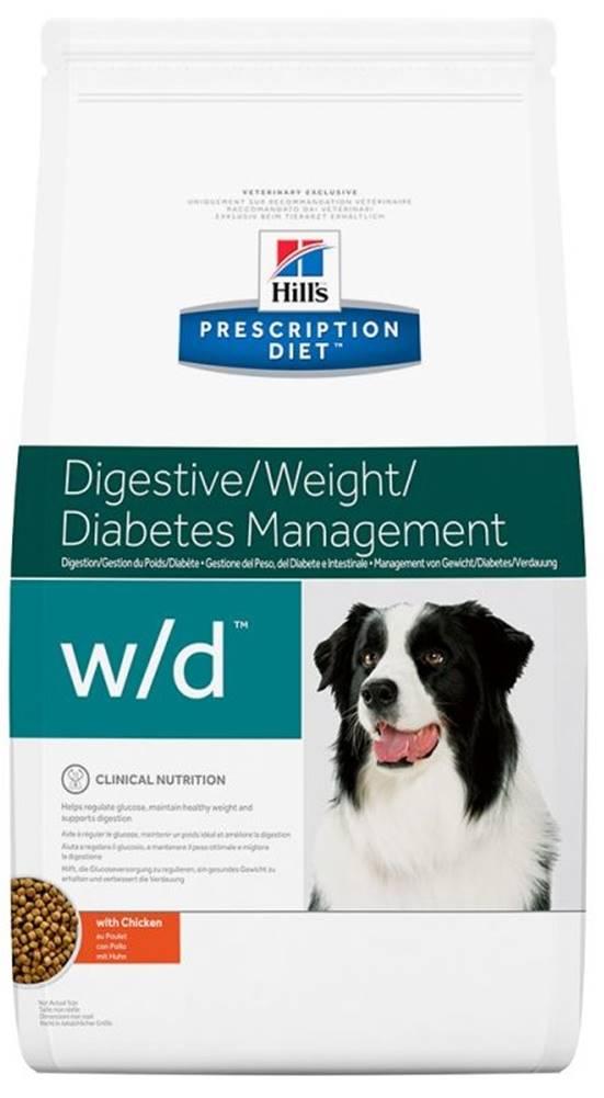 Hills Hills Canine  w/d (dieta) - 4kg