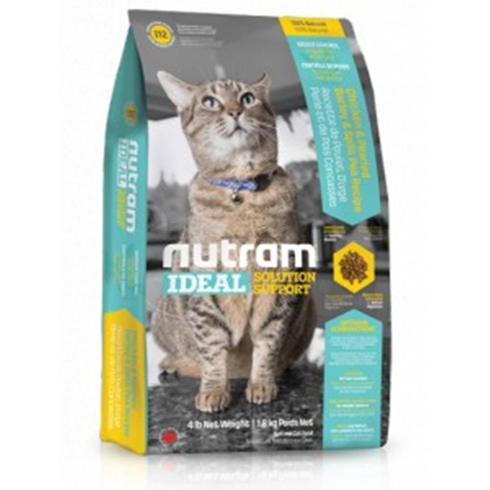 Nutram NUTRAM cat    I12  -  IDEAL   WEIGHT CONTROL - 1,13kg