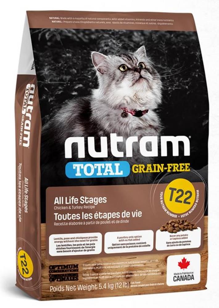 Nutram NUTRAM cat  T22 - GF CHICKEN/turkey  - 1,13kg