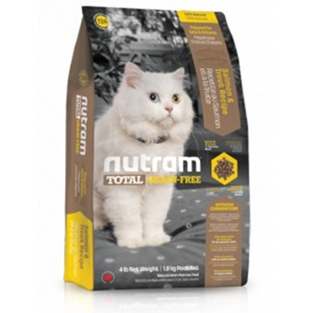 Nutram NUTRAM cat   T24  -  TOTAL GF salmon/trout - 1,13kg