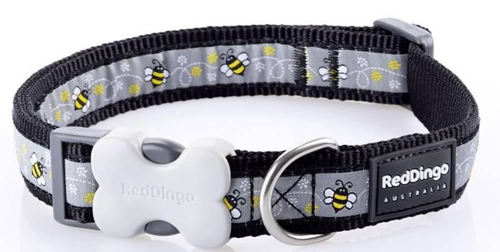Red-dingo Obojok RD BUMBLE BEE black - 1,2/20-32cm