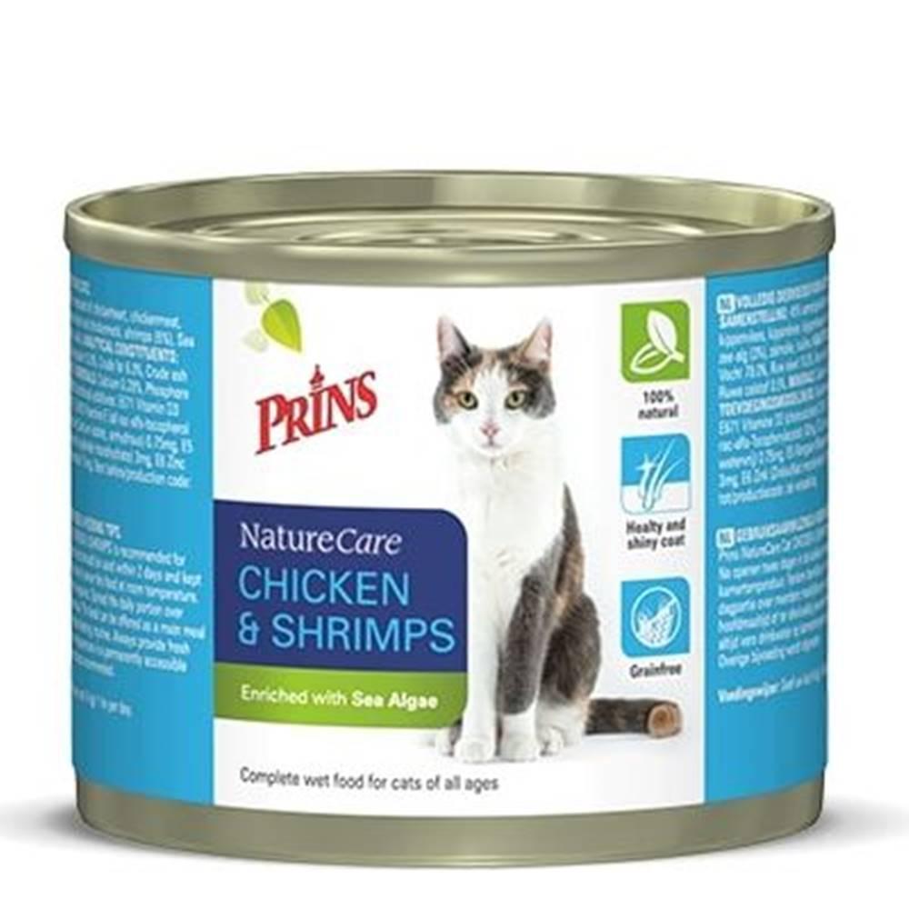 Prins PRINS cat konz. CHICKEN/shrimps - 200g