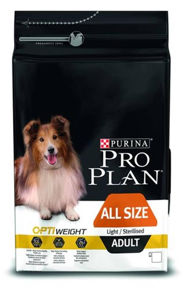 Purina Purina PRO PLAN Dog All Size Adult Ligh & Sterilised - 3kg