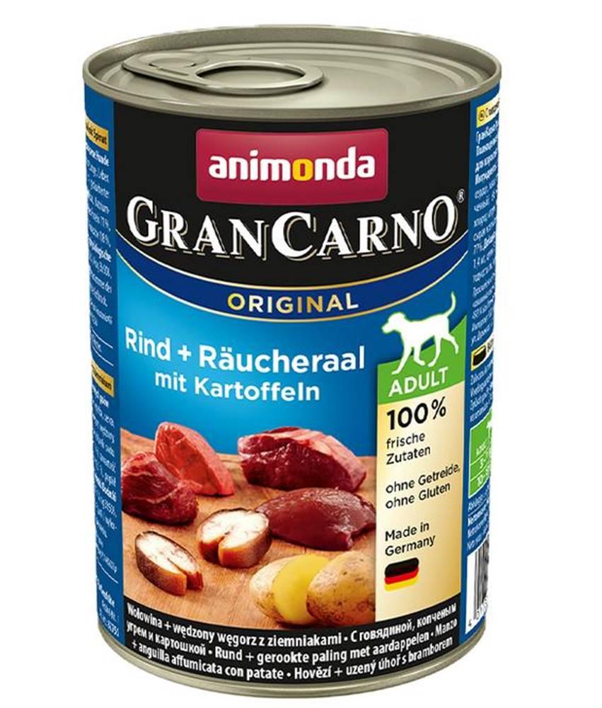 Animonda ANIMONDA dog konzerva Gran Carno údený úhor / zemiaky - 800g