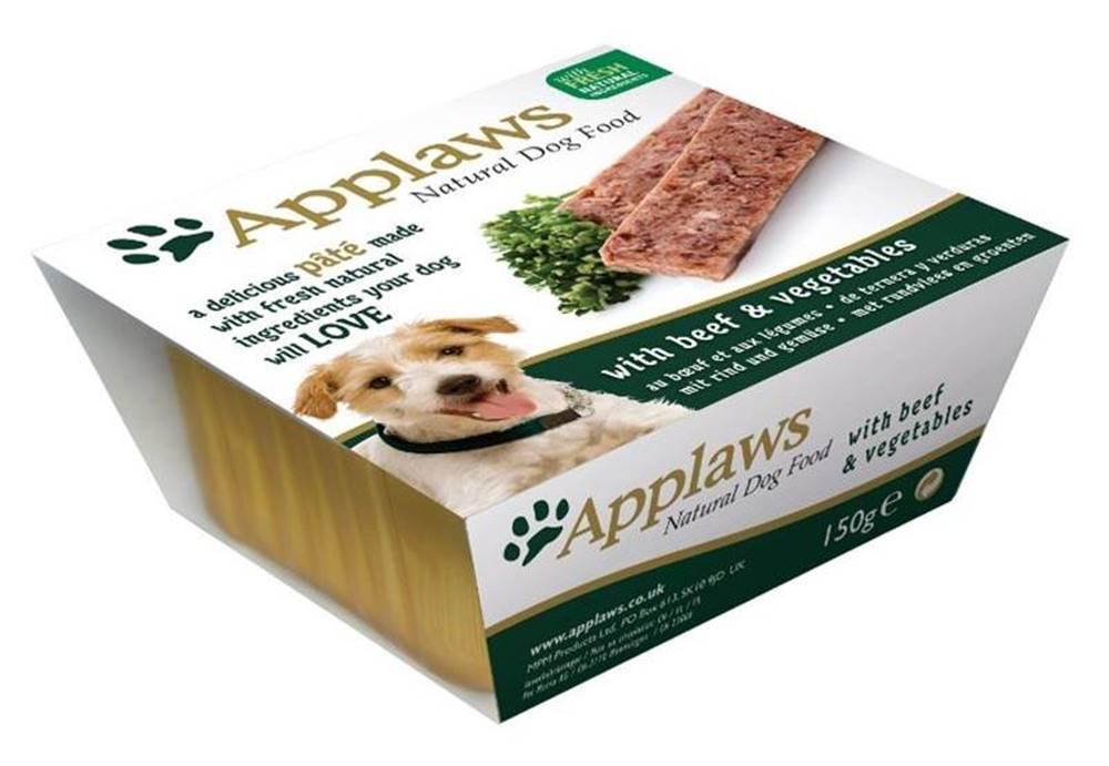 Applaws APPLAWS dog  vanička  HOVĚZÍ/zelenina - 150g