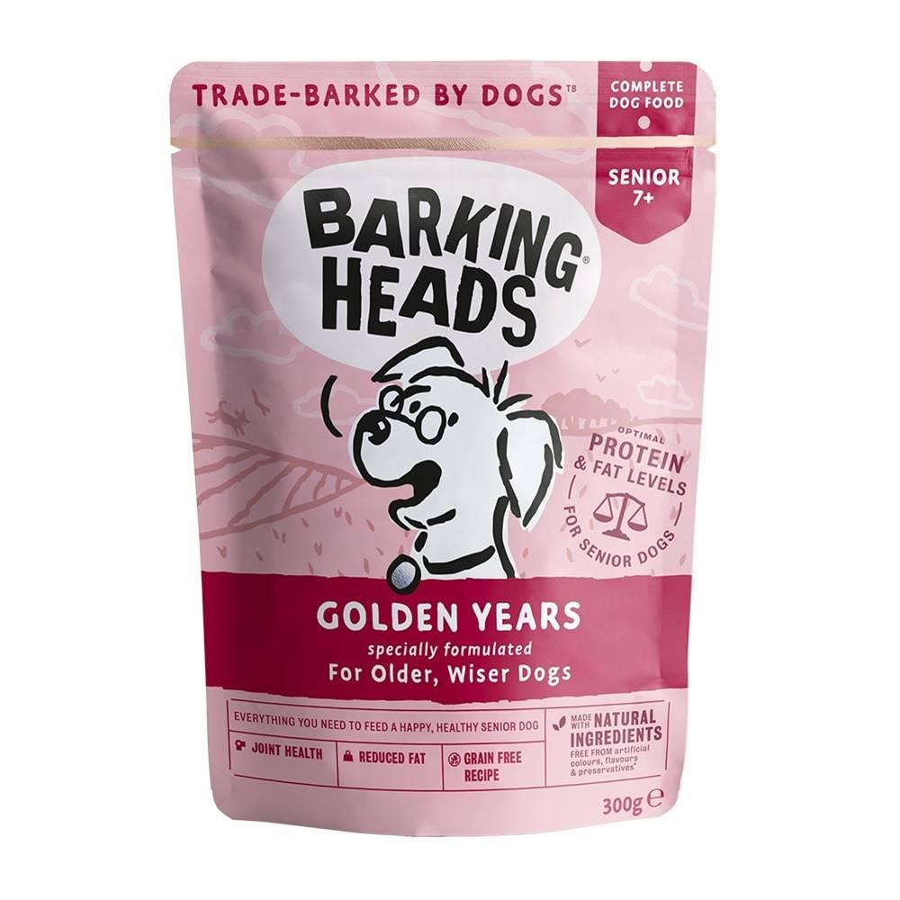 Barking heads Barking Heads  kapsa GOLDEN years - 300g