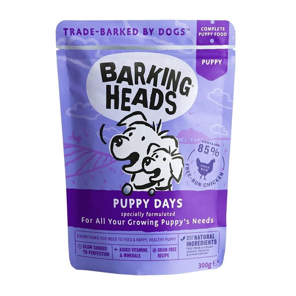 Barking heads Barking Heads vrecko PUPPY days - 300g